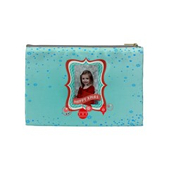 Xmas By Xmas   Cosmetic Bag (medium)   S8y20sqwud7k   Www Artscow Com Back