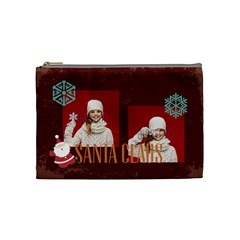 Xmas By Xmas   Cosmetic Bag (medium)   Qy62irwp3mtu   Www Artscow Com Front