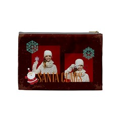 Xmas By Xmas   Cosmetic Bag (medium)   Qy62irwp3mtu   Www Artscow Com Back