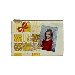 Xmas By Xmas   Cosmetic Bag (medium)   1w00yacv7mv4   Www Artscow Com Front