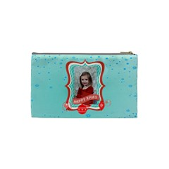 Xmas By Xmas   Cosmetic Bag (small)   Rdl65tudd636   Www Artscow Com Back