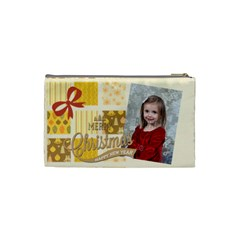Xmas By Xmas   Cosmetic Bag (small)   Fj6qxfgjzf0h   Www Artscow Com Back