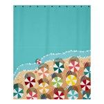 summer - Shower Curtain 60  x 72  (Medium)