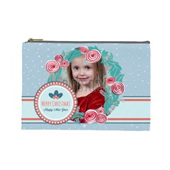 Xmas By Xmas   Cosmetic Bag (large)   36mx5pvl2kwi   Www Artscow Com Front