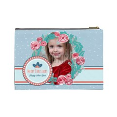 Xmas By Xmas   Cosmetic Bag (large)   36mx5pvl2kwi   Www Artscow Com Back