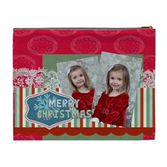 Xmas By Xmas   Cosmetic Bag (xl)   Zog780nji5fl   Www Artscow Com Back