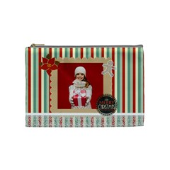 Xmas By Xmas   Cosmetic Bag (medium)   U9qce29i4wr7   Www Artscow Com Front