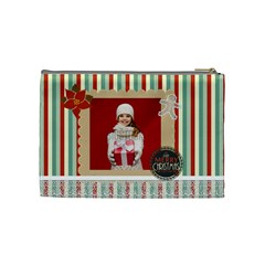 Xmas By Xmas   Cosmetic Bag (medium)   U9qce29i4wr7   Www Artscow Com Back