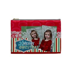 Xmas By Xmas   Cosmetic Bag (medium)   Xxt69gp5uhh3   Www Artscow Com Front