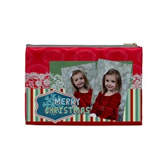 Xmas By Xmas   Cosmetic Bag (medium)   Xxt69gp5uhh3   Www Artscow Com Back