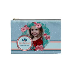 Xmas By Xmas   Cosmetic Bag (medium)   J2jxxio2xaan   Www Artscow Com Front