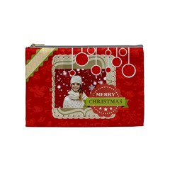 Xmas By Xmas   Cosmetic Bag (medium)   La17jy6mdtvs   Www Artscow Com Front