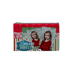 Xmas By Xmas   Cosmetic Bag (small)   9fjk54hxmzwa   Www Artscow Com Front