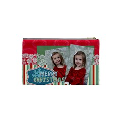 Xmas By Xmas   Cosmetic Bag (small)   9fjk54hxmzwa   Www Artscow Com Back