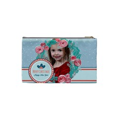 Xmas By Xmas   Cosmetic Bag (small)   404yhd9o25kq   Www Artscow Com Back