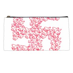 Swastika With Birds Of Peace Symbol Pencil Case by dflcprints