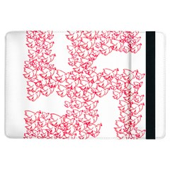 Swastika With Birds Of Peace Symbol Apple Ipad Air Flip Case
