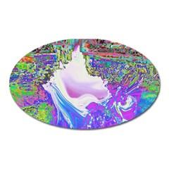 Splash1 Magnet (oval) by icarusismartdesigns