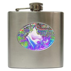 Splash1 Hip Flask by icarusismartdesigns