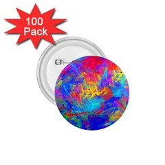 Colour Chaos  1 75  Button (100 Pack) by icarusismartdesigns