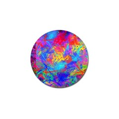 Colour Chaos  Golf Ball Marker 4 Pack by icarusismartdesigns