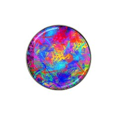 Colour Chaos  Golf Ball Marker 10 Pack (for Hat Clip) by icarusismartdesigns