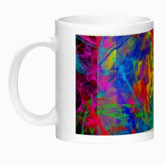 Colour Chaos  Glow In The Dark Mug by icarusismartdesigns