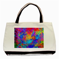 Colour Chaos  Classic Tote Bag by icarusismartdesigns
