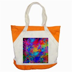 Colour Chaos  Accent Tote Bag by icarusismartdesigns