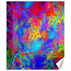 Colour Chaos  Canvas 20  X 24  (unframed) by icarusismartdesigns