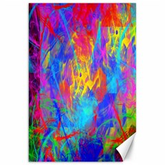 Colour Chaos  Canvas 20  X 30  (unframed) by icarusismartdesigns