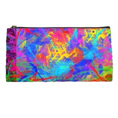 Colour Chaos  Pencil Case by icarusismartdesigns