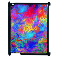 Colour Chaos  Apple Ipad 2 Case (black) by icarusismartdesigns