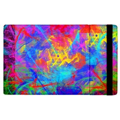 Colour Chaos  Apple Ipad 3/4 Flip Case by icarusismartdesigns