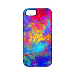 Colour Chaos  Apple Iphone 5 Classic Hardshell Case (pc+silicone) by icarusismartdesigns