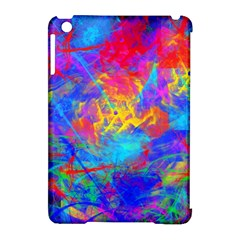 Colour Chaos  Apple Ipad Mini Hardshell Case (compatible With Smart Cover) by icarusismartdesigns