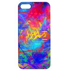 Colour Chaos  Apple Iphone 5 Hardshell Case With Stand by icarusismartdesigns