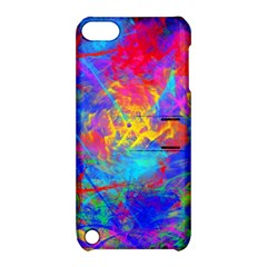 Colour Chaos  Apple Ipod Touch 5 Hardshell Case With Stand by icarusismartdesigns