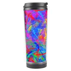 Colour Chaos  Travel Tumbler by icarusismartdesigns