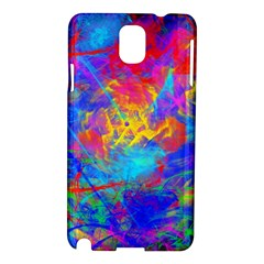 Colour Chaos  Samsung Galaxy Note 3 N9005 Hardshell Case by icarusismartdesigns