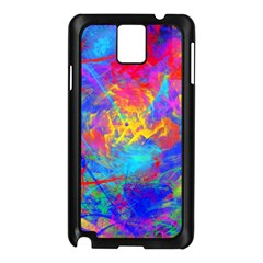 Colour Chaos  Samsung Galaxy Note 3 N9005 Case (black) by icarusismartdesigns
