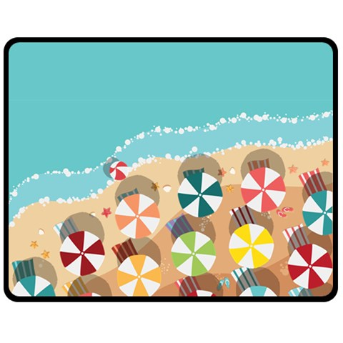 Summer By X   Fleece Blanket (medium)   Ppcp9mqoemlt   Www Artscow Com 60 x50 Blanket Front