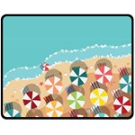 summer - Fleece Blanket (Medium)