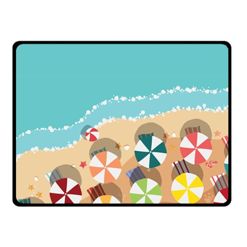 Summer By X   Fleece Blanket (small)   Pzm4w6y8ljim   Www Artscow Com 50 x40 Blanket Front