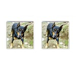 doberman pinscher Cufflinks (Square)