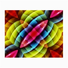 Multicolored Abstract Pattern Print Glasses Cloth (small) by dflcprints