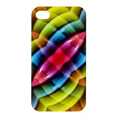 Multicolored Abstract Pattern Print Apple Iphone 4/4s Hardshell Case by dflcprints