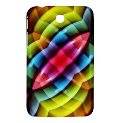Multicolored Abstract Pattern Print Samsung Galaxy Tab 3 (7 ) P3200 Hardshell Case  by dflcprints