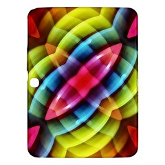 Multicolored Abstract Pattern Print Samsung Galaxy Tab 3 (10 1 ) P5200 Hardshell Case