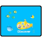 summer kids - Fleece Blanket (Large)